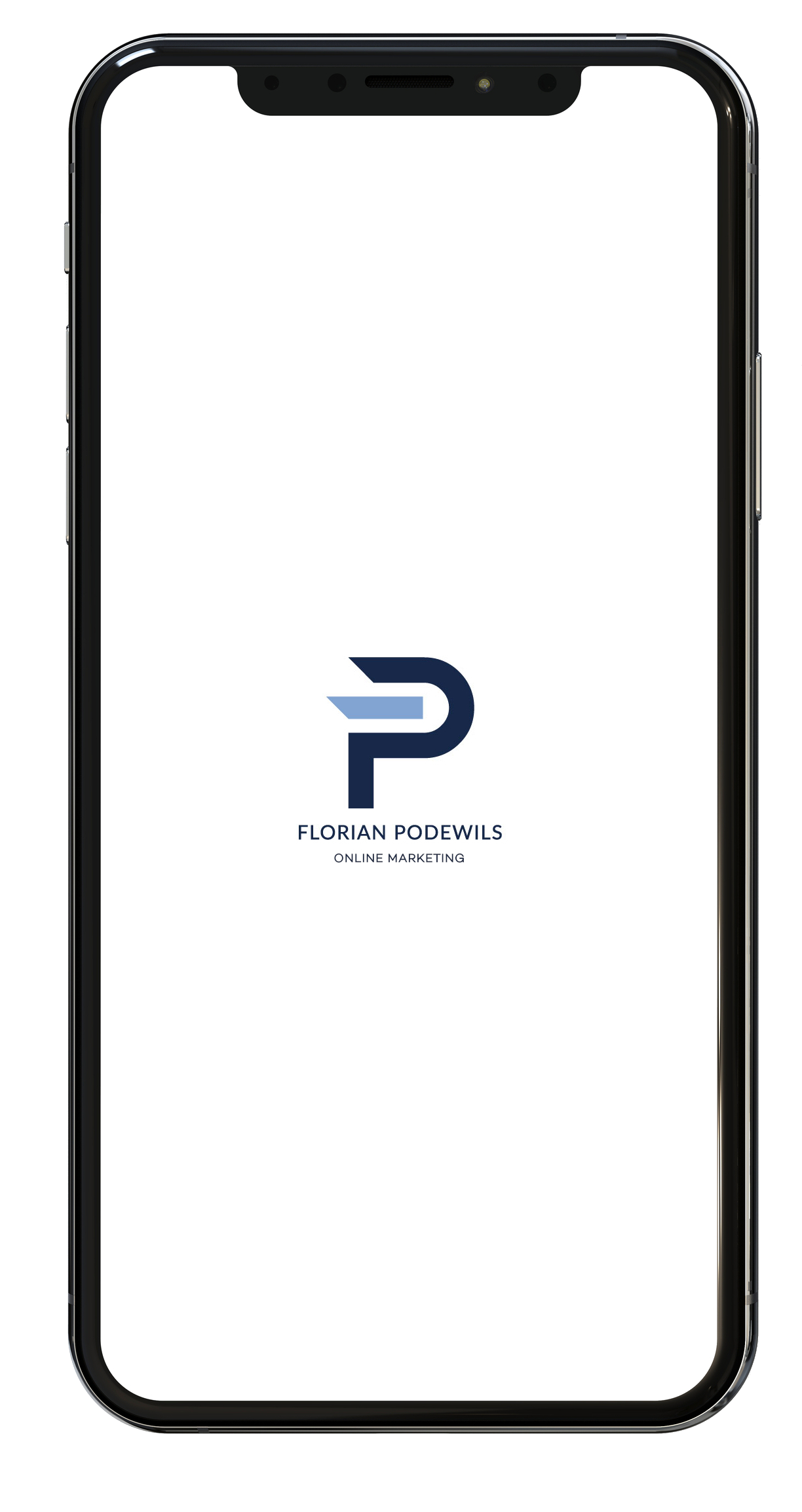 FP Logo in Iphone Mockup